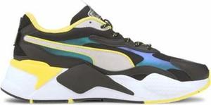 Buty sportowe Puma w sportowym stylu z płaską podeszwą sznurowane