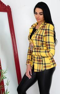 Żółta marynarka Olika