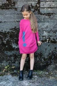 Różowa sukienka dziewczęca M-art-a-baby