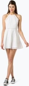 Sukienka Superdry bez rękawów z dekoltem halter trapezowa