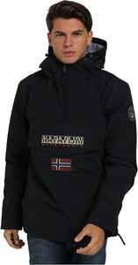 Czarna kurtka Napapijri krótka
