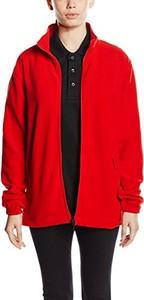 Czerwona kurtka amazon.de w stylu casual z plaru