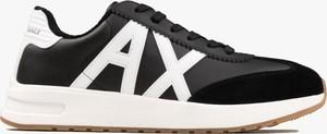 Buty sportowe Armani Exchange sznurowane