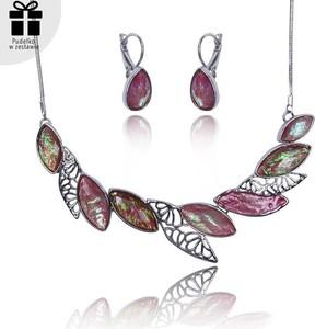 POLSKA Wyjątkowy zestaw biżuterii I: naszyjnik, bransoletka i kolczyki