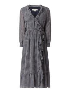 Sukienka Michael Kors z długim rękawem w stylu casual midi
