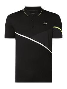 Czarna koszulka polo Lacoste