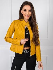 Żółta kurtka Sheandher.pl w stylu casual