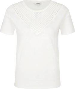 Bluzka Desigual z krótkim rękawem z okrągłym dekoltem