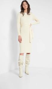 Sukienka ORSAY z długim rękawem z dzianiny ołówkowa