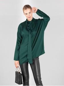 Zielona koszula Ochnik z bawełny