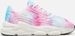 Buty sportowe Cropp sznurowane z zamszu z płaską podeszwą