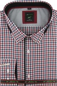 Koszula Laviino z tkaniny z długim rękawem z klasycznym kołnierzykiem