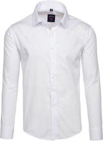 707b747d8f242 Modnie Białym Kołnierzykiem I Allani Koszula Z Męska Stylowo YEtwAq