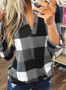 Koszula Sandbella w stylu casual z długim rękawem