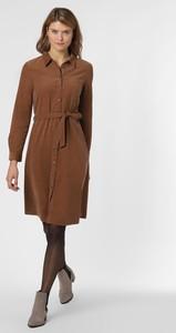 Sukienka Opus ze sztruksu z długim rękawem