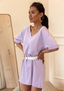 Sukienka Latika w młodzieżowym stylu trapezowa mini