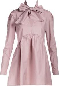 Różowa sukienka Multu w stylu casual mini