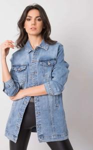 Kurtka Promese z jeansu w stylu casual