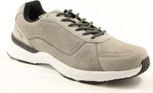 Brązowe buty sportowe American Club sznurowane