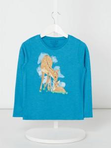 Niebieska bluzka dziecięca Review For Kids z długim rękawem