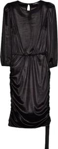 Czarna sukienka ECHO mini