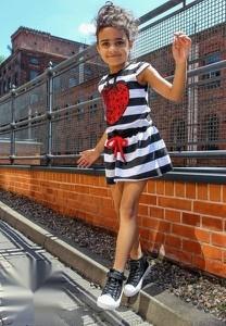 Sukienka dziewczęca Chillout Kid w paseczki