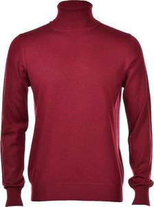 Czerwony sweter Gran Sasso w stylu casual