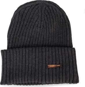Granatowa czapka Trussardi Jeans