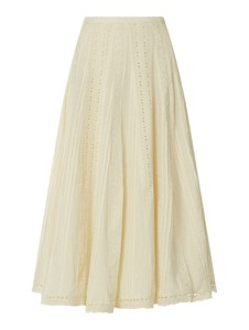 Spódnica Ralph Lauren z bawełny midi