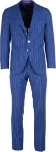 Niebieski garnitur Isaia