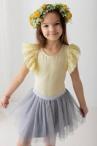 Żółta bluzka dziecięca Myprincess / Lily Grey