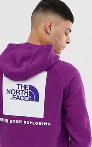 Fioletowa bluza The North Face