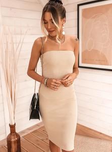 Sukienka SELFIEROOM z bawełny dopasowana mini