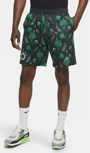 Spodenki Nike w sportowym stylu z nadrukiem