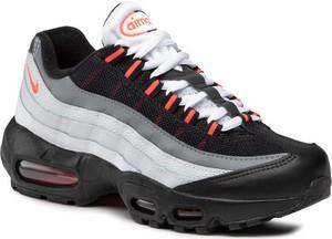 Czarne buty sportowe Nike air max 95 na platformie