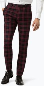 Czerwone spodnie Finshley & Harding