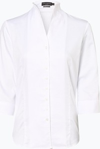 Bluzka Franco Callegari z tkaniny z dekoltem w kształcie litery v