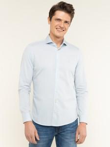 Niebieska koszula Marc O'Polo z długim rękawem