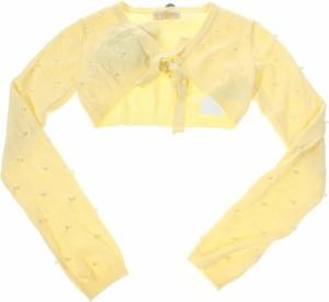 Żółty sweter Monnalisa Chic