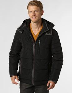 Czarna kurtka Nils Sundström w stylu casual