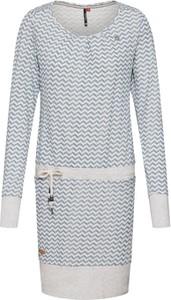 Niebieska sukienka Ragwear z dresówki mini