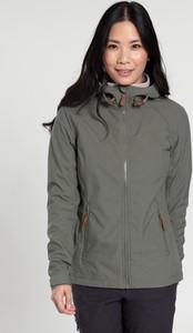 Zielona kurtka Mountain Warehouse z tkaniny w stylu casual