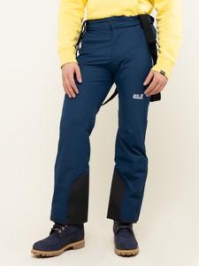 Granatowe spodnie sportowe Jack Wolfskin
