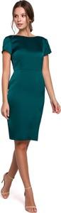 Sukienka Makeover ołówkowa z krótkim rękawem