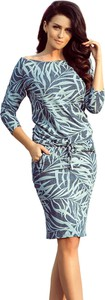 Sukienka NUMOCO oversize z długim rękawem