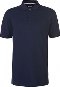 Granatowy t-shirt Kangol