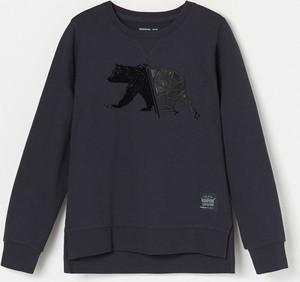 Czarna koszulka dziecięca Reserved