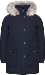 Granatowa kurtka Tommy Hilfiger w stylu casual