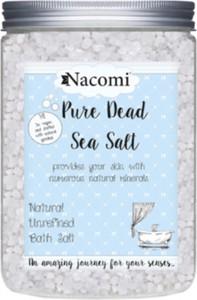 Nacomi, Pure Dead Sea Salt, sól do kąpieli z minerałami Morza Martwego, 1400 g