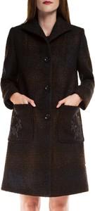 Granatowy płaszcz Wittchen z wełny